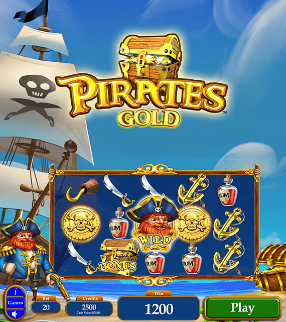 Pirate's Gold Electronic Pull Tab