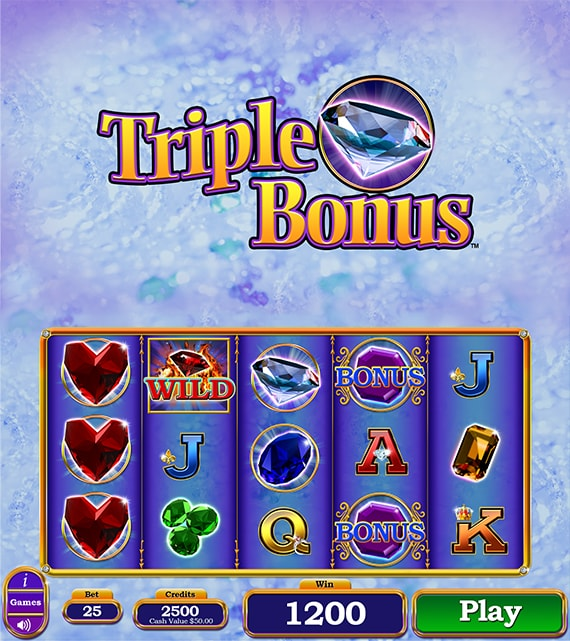 Triple Bonus Electronic Pull Tab