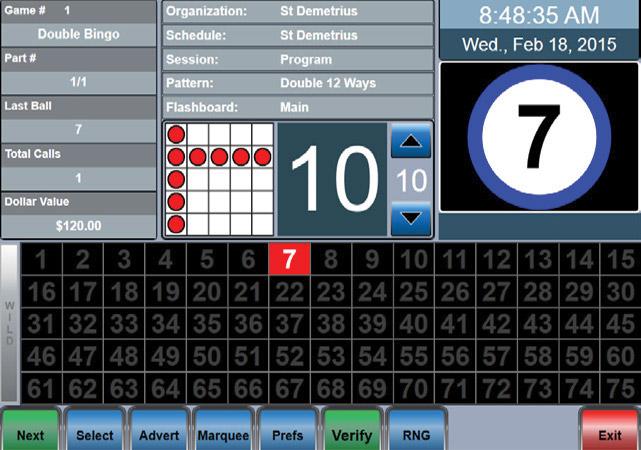 Caller Play Screen