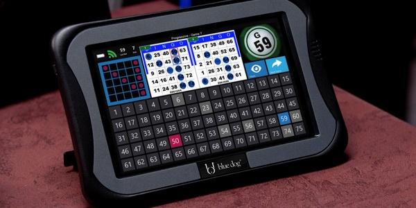 Blue Dog Handheld Bingo Units