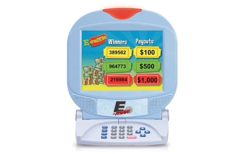 E-max E-Raffle Software for the Max10 Gaming Unit