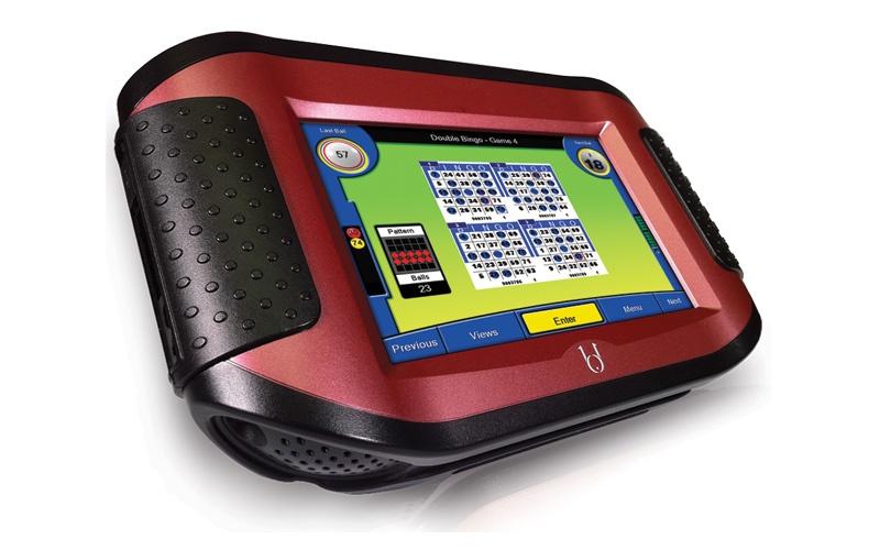 Blue Dog LD7 Handheld Bingo Unit