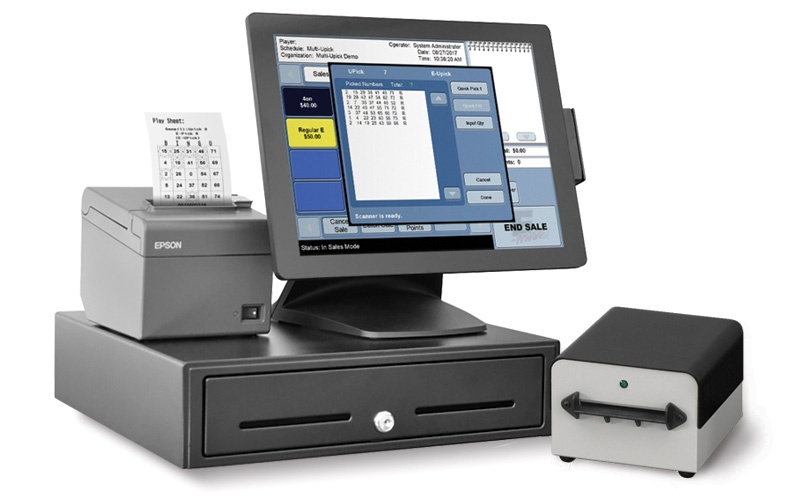 E-max Echo Point of Sale System