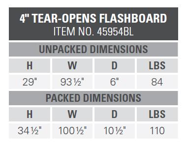 Flashboard - 45954BL