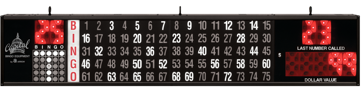 Dollar Value Bingo Flashboard