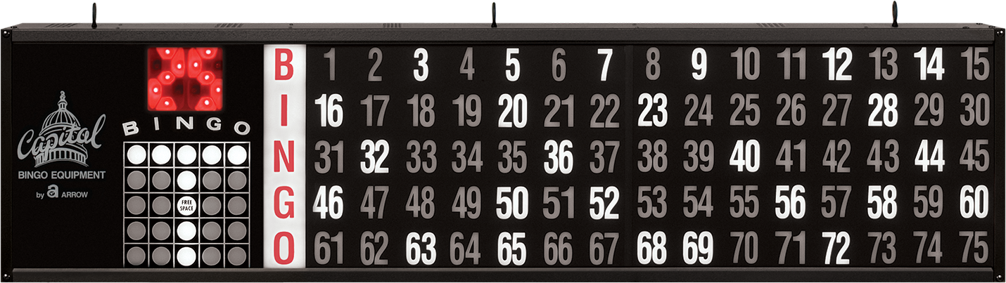 Game Indicator Bingo Flashboard