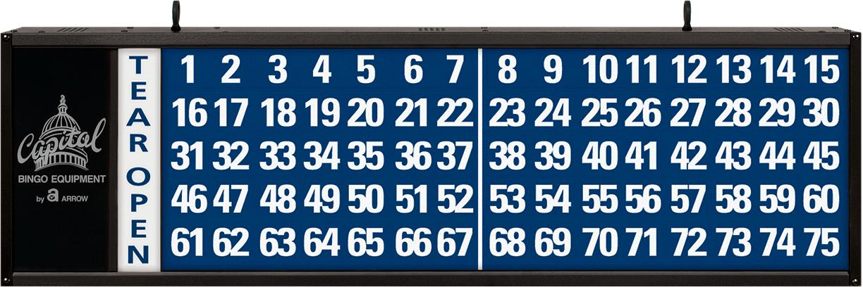 Tear-Opens Bingo Flashboard