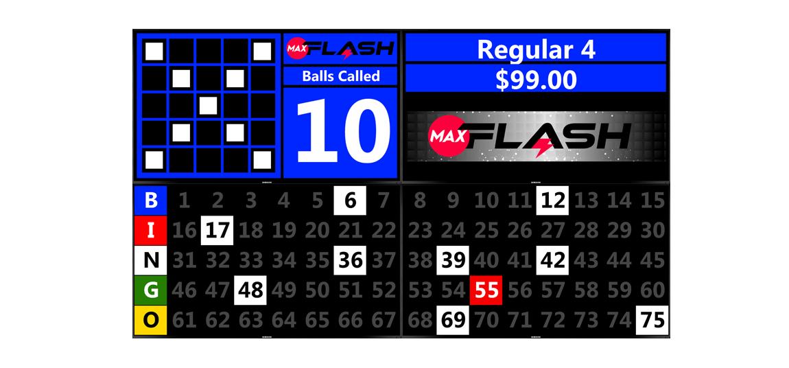 Max Flash - Quadruple Screen