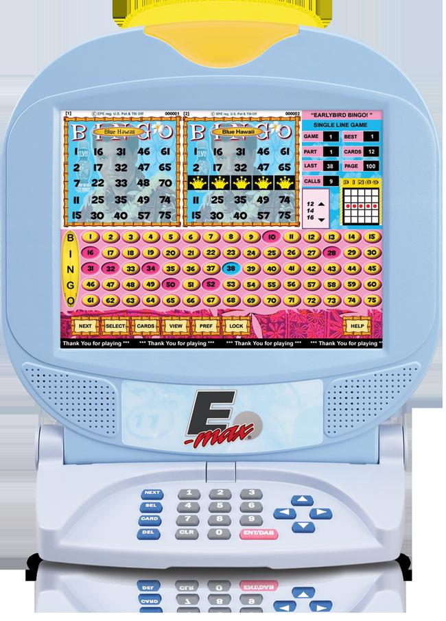E-max Max10 Gaming Unit