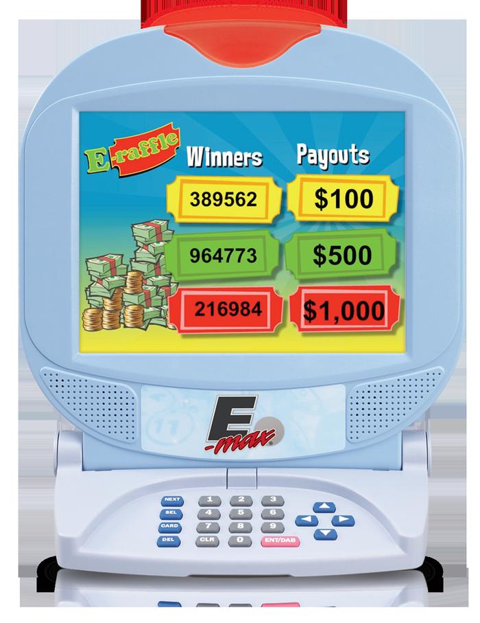 E-max E-Raffle software
