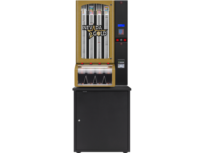 Nevada Gold - 4 Column Cabinet