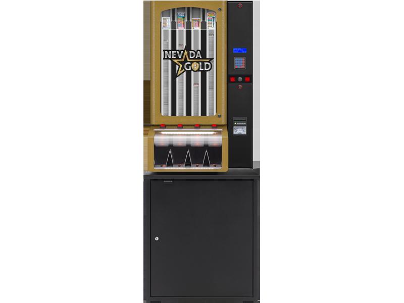 Nevada Gold - 4 Column Cabinet