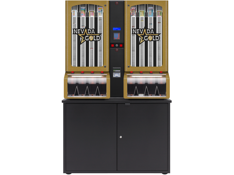 Nevada Gold - 8 Column Cabinet