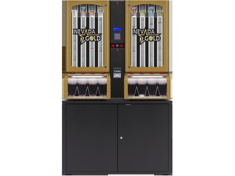 Nevada Gold - 8 Column Cabinet