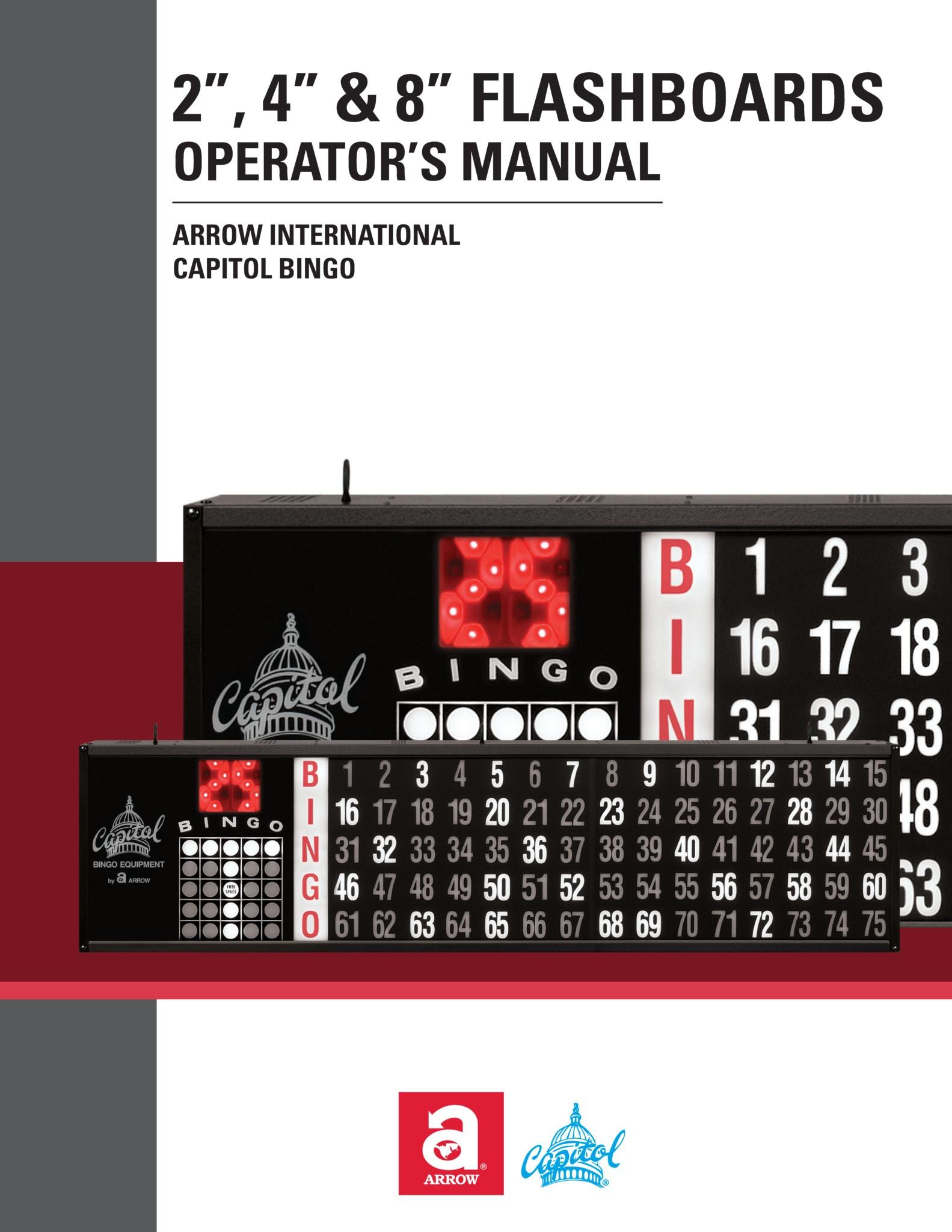 Flashboard Manual Equipment Manuals