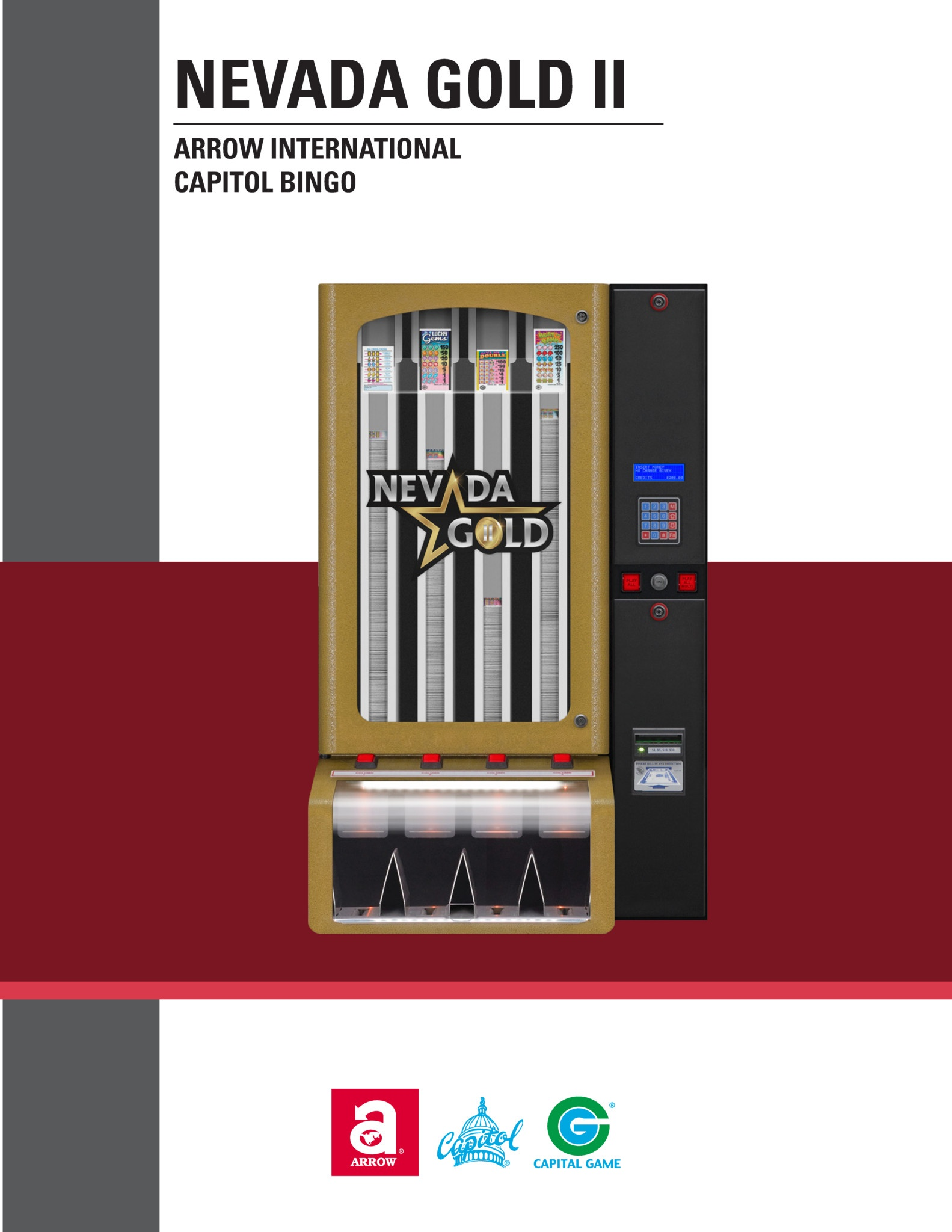 Nevada Gold II Manual Equipment Manuals