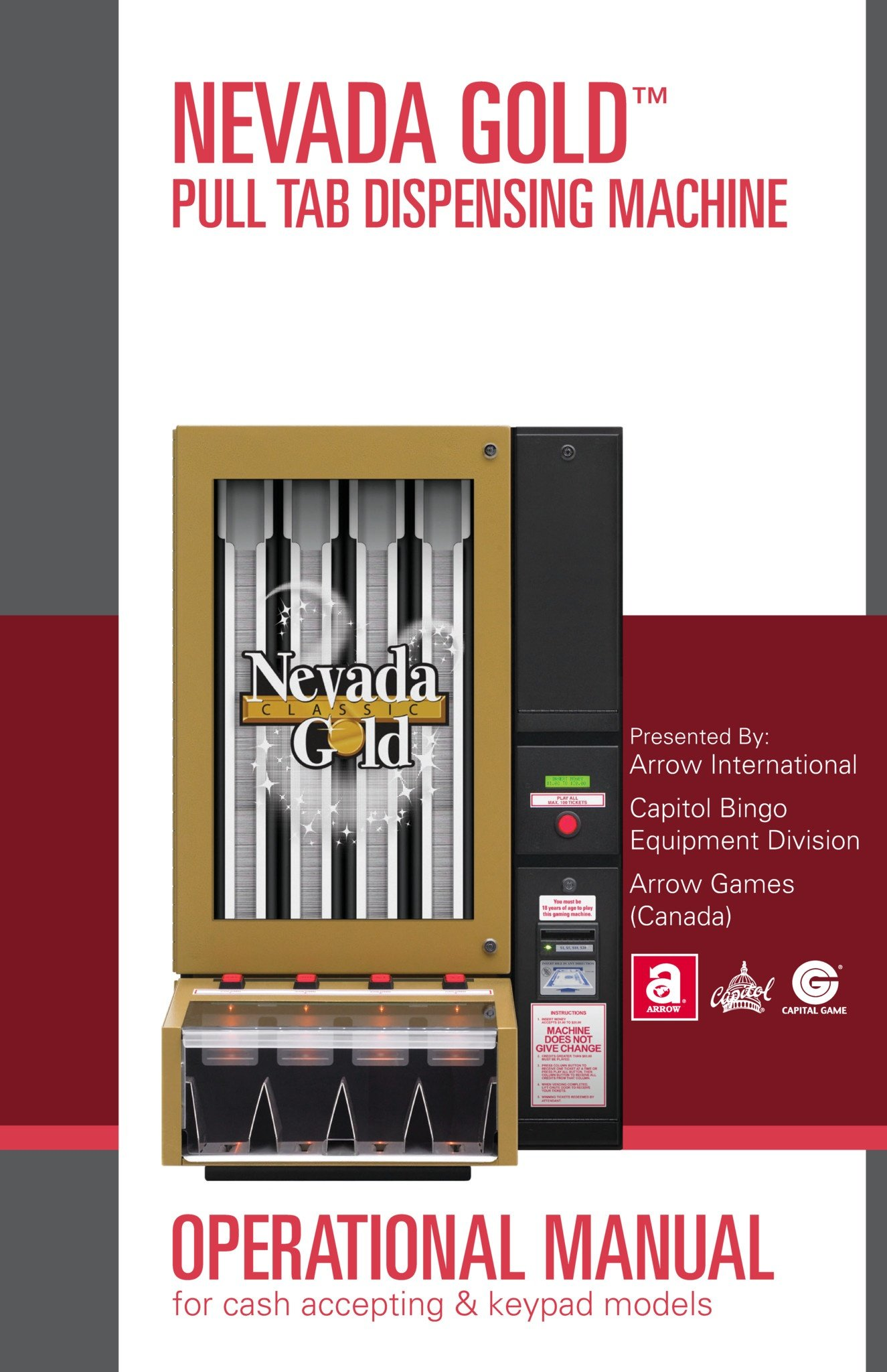 Nevada Gold Manual Equipment Manuals