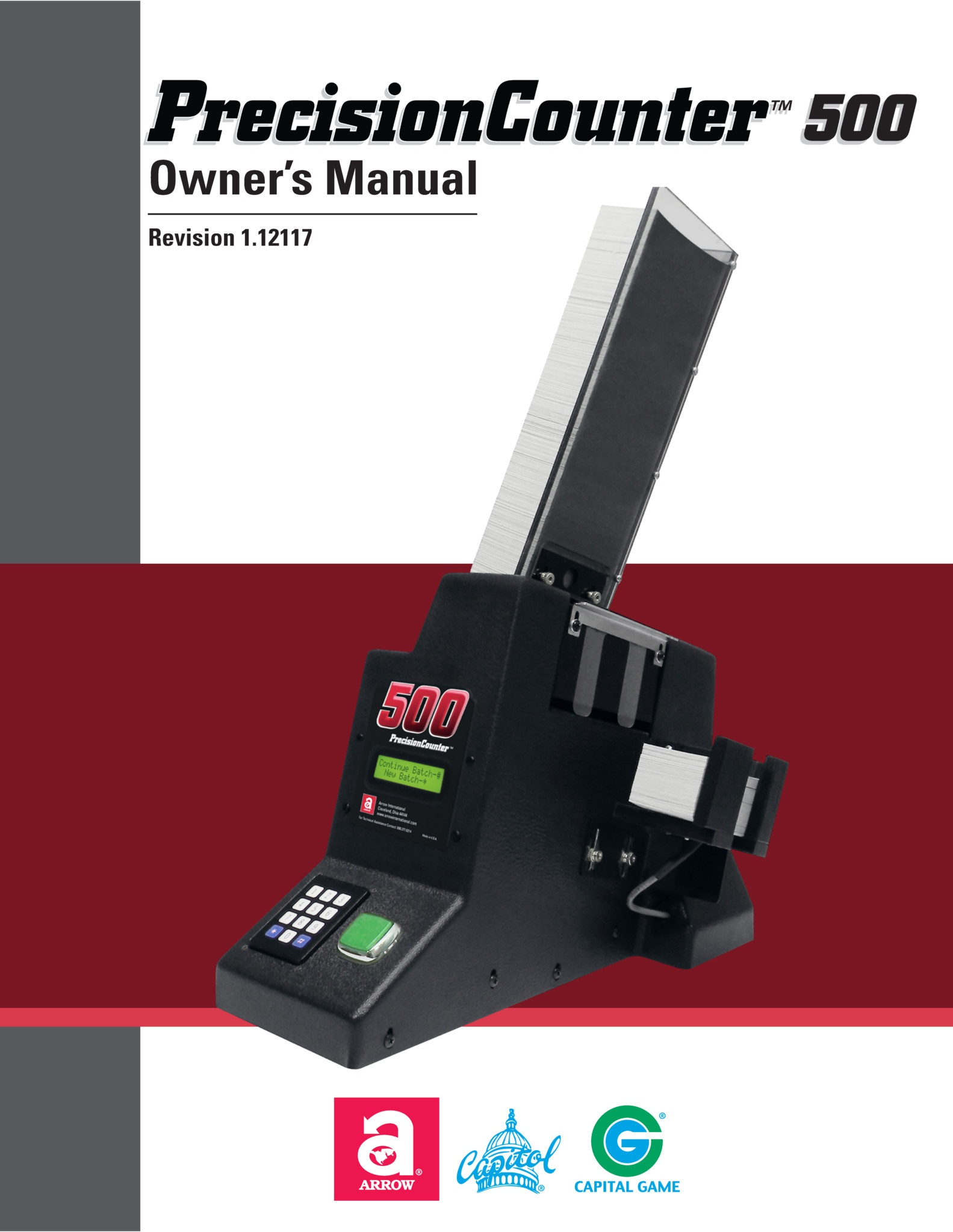 PrecisionCounter500 Manual Equipment Manuals