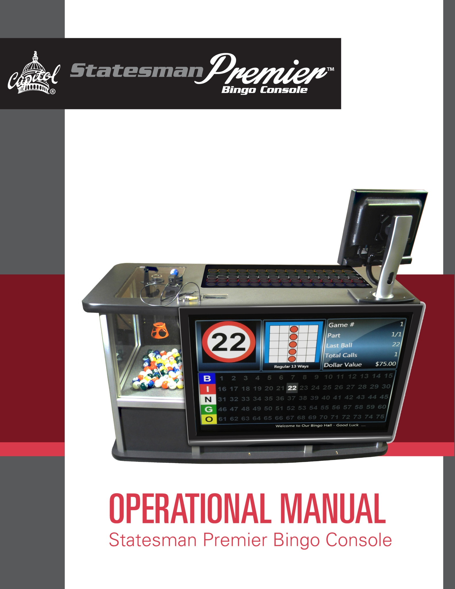 Statesman Premier Manual Equipment Manuals