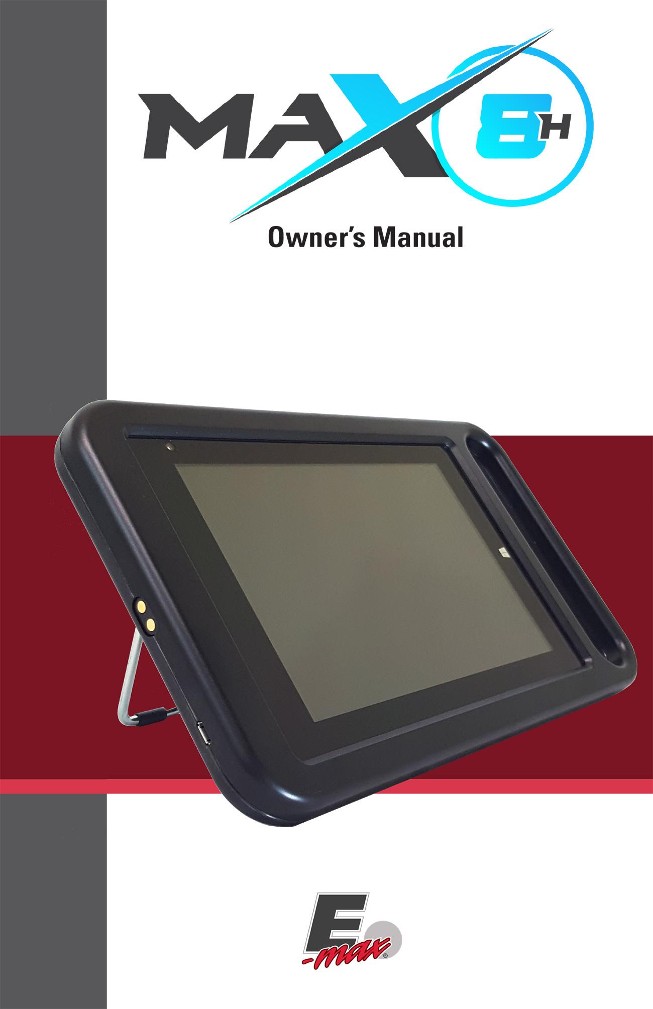 Max 8H Promotional Materials/Equipment Flyers & Brochures